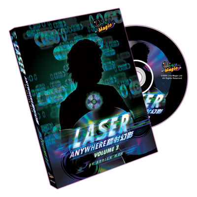 Laser Anywhere Volume 2 by Live Magic - DVD