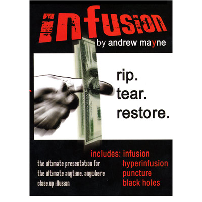 Infusion by Andrew Mayne - DVD