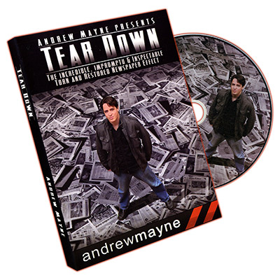 Tear Down by Andrew Mayne (Autographed) - DVD
