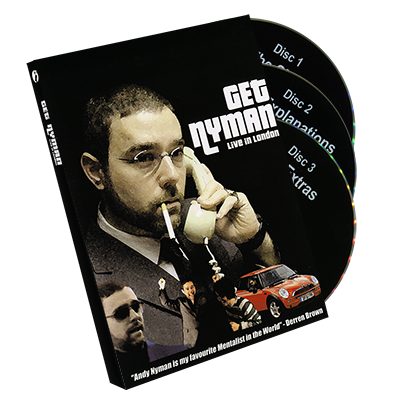 Get Nyman - Andy Nyman & Alakazam - DVD