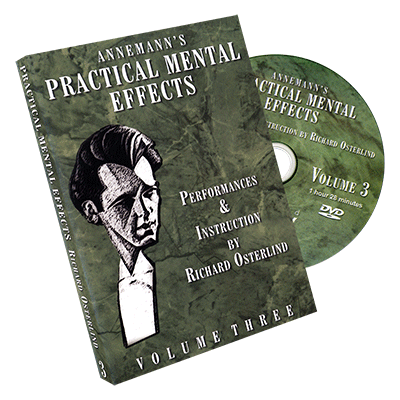 Annemann's Practical Mental Effects Vol. 3 by Richard Osterlind - DVD