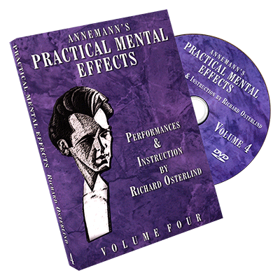 Annemann's Practical Mental Effects Vol 4