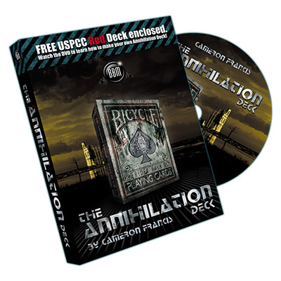 Annihilation Deck (Deck and DVD) by Cameron Francis & Big Blind Media -  DVD