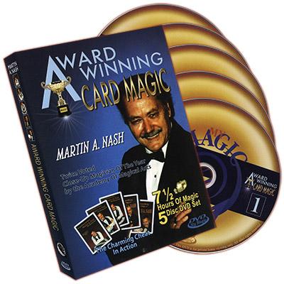 Trucos de Magia con Cartas Premiados (5 DVD Set) - Martin Nash