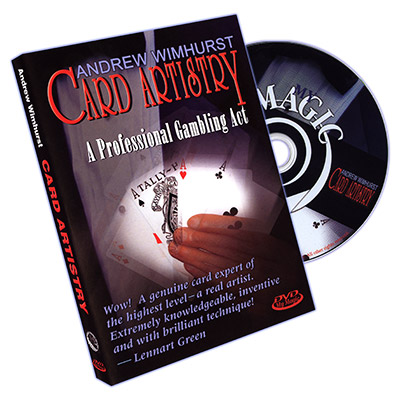 Card Artistry by Andrew Wimhurst - DVD
