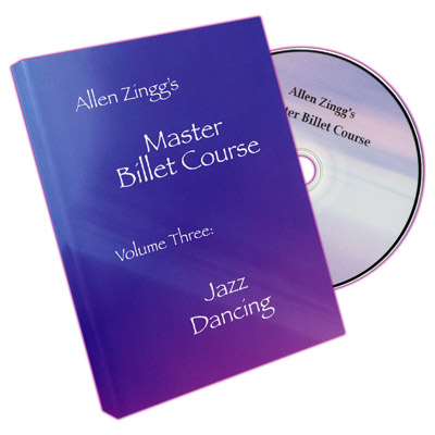 Master Billet Course Jazz Dancing by Allen Zingg - Volume 3 - DVD