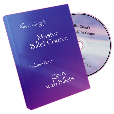 Master Billet Course Q&A With Billets by Allen Zingg - Volume 4 - DVD