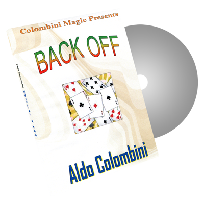 Back Off by Wild-Colombini Magic - DVD
