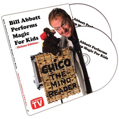Bill Abbott Performs Magic For Kids Deluxe 2 DVD Set by Bill Abbott Close-up-+Stand-up-Kinderzaubertricks