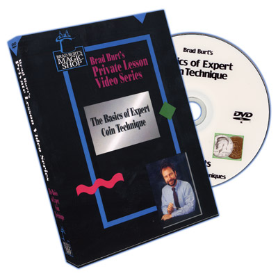 Basics Of Expert Coin Technique Volume 1 by Brad Burt - DVD