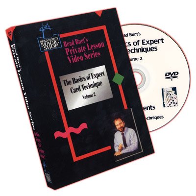Basics Of Expert Card Techniques Vol.2 by Brad Burt - DVD