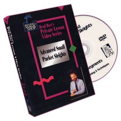 Advanced Small Packet Sleights by Brad Burt - DVD