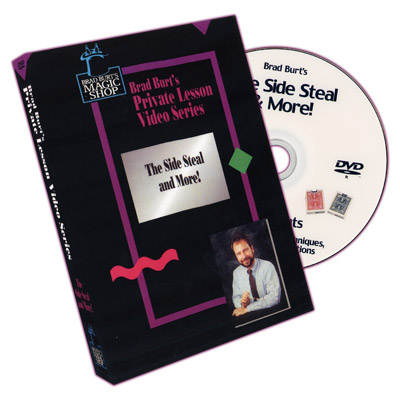 Side Steal And More by Brad Burt - DVD