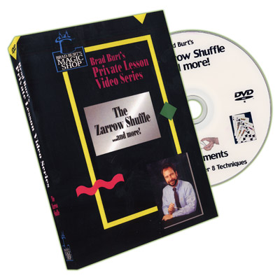Zarrow Shuffle And More by Brad Burt - DVD