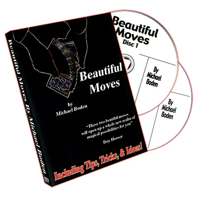 Beautiful Moves (2 DVD set) by Michael Boden - DVD