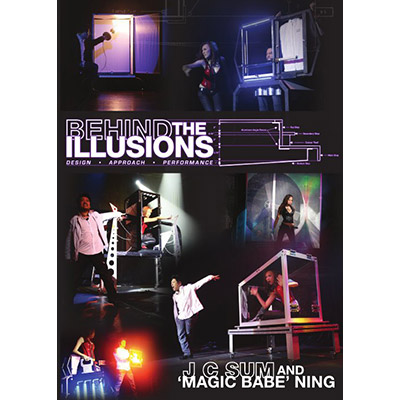 "Behind the Illusions - JC Sum & ""Magic Babe"" Ning - DVD"