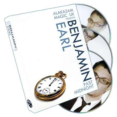 Past Midnight (3 DVD Set) by Benjamin Earl and Alakazam - DVD