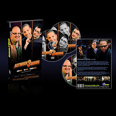 Between 3 Minds (3 DVD set) by Jay Lavli, Liam Gold, and Itamar Weisz - DVD
