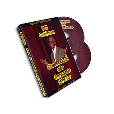 Confessions Of Corporate Warrior (2 DVD Set) - Bill Goldman