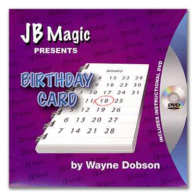 Birthday Card by Wayne Dobson and JB Magic - DVD