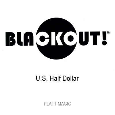 Blackout (US Half Dollar, With DVD) by Brian Platt - DVD