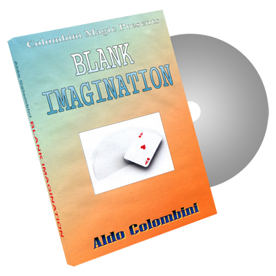 Blank Imagination by Wild-Colombini Magic - DVD