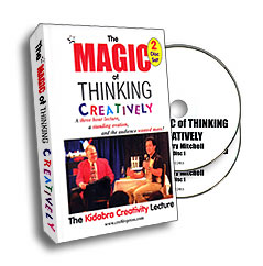Magic of Thinking Creatively, DVD
