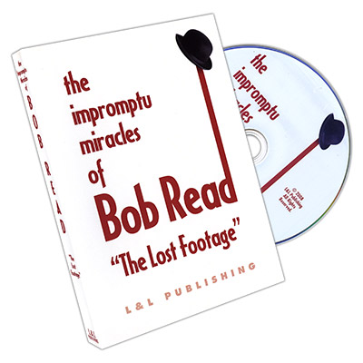 "The Impromptu Miracles of Bob Read ""The Lost Footage"" by L & L Publishing - DVD"
