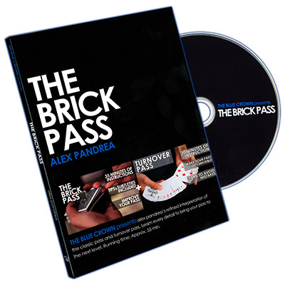 Brick Pass by Alex Pandrea and The Blue Crown - DVD