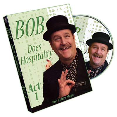 Bob Does Hospitality - Act 1 by Bob Sheets - DVD
