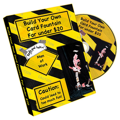 Build Your Own Card Fountain For Under $20 by David Allen and Scott Francis