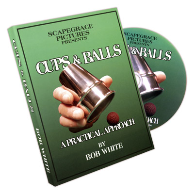 Cups And Balls by Bob White - DVD
