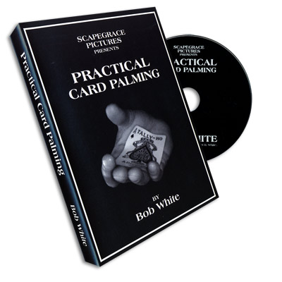 Practical Card Palming Bob White, DVD