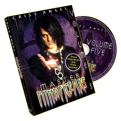 Master Mindfreaks - Criss Angel - Vol 5 - DVD de Trucos de Magia con Accesorios