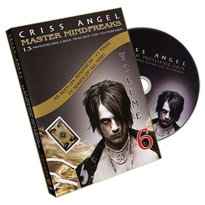 Mindfreaks Vol. 6 by Criss Angel - DVD