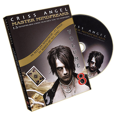 Mindfreaks Vol. 8 by Criss Angel - DVD