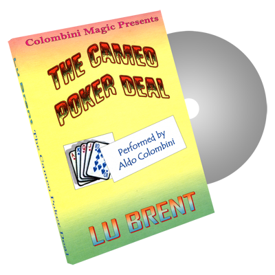 The Cameo Poker Deal by Wild-Colombini Magic - DVD
