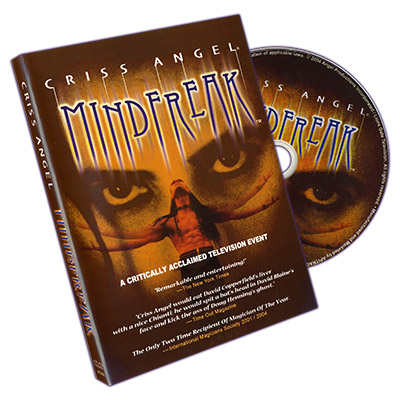 Mindfreak Criss Angel, DVD