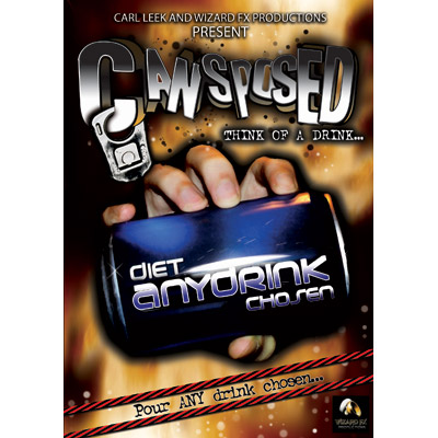 Cansposed (DVD and Props) by Carl Leek and Wizard FX Productions - DVD