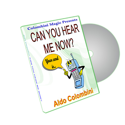 Can You Hear Me Now? by Aldo Colombini - DVD