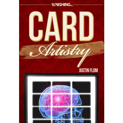 Card Artistry ( X-Ray - Brain Scan) by Justin Flom & Vanishing Inc - DVD