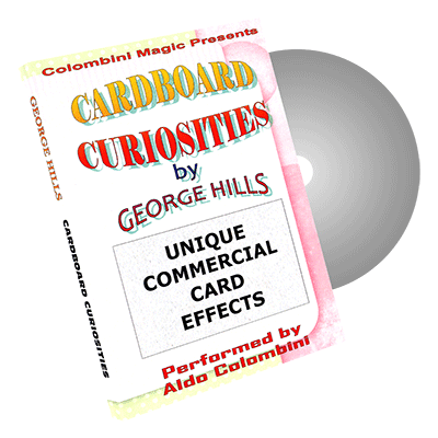 Cardboard Curiosities by Wild-Colombini Magic - DVD