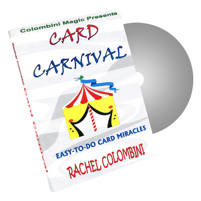 Card Carnival by Wild-Colombini Magic - DVD