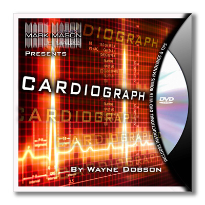 Cardiograph (BLUE) by Wayne Dobson and JB Magic - DVD