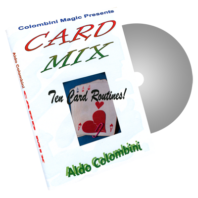 Card Mix by Wild-Colombini Magic - DVD