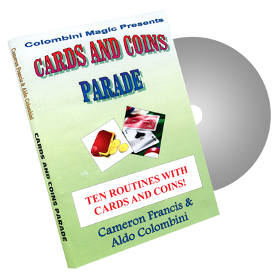 Cards & Coins Parade by Wild-Colombini Magic - DVD