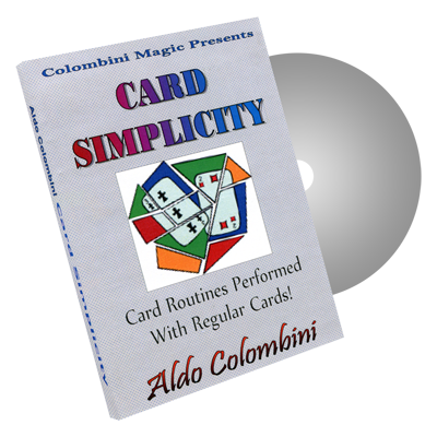 Card Simplicity by Wild-Colombini Magic - DVD