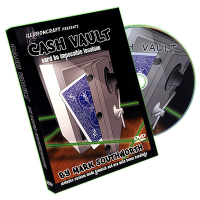 Cash Vault by Mark Southworth - DVD