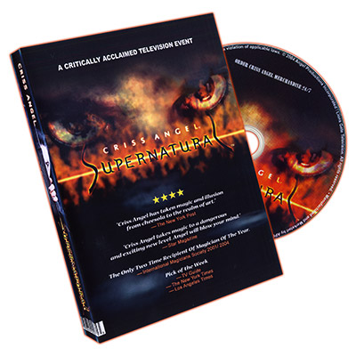 Supernatural Criss Angel, DVD