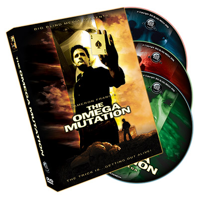 Omega Mutation (3 DVD Set) by Cameron Francis & Big Blind Media - DVD